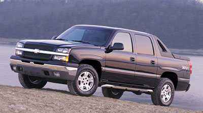Top quality Hood Scoops to dress up your Chevy Avalanche.