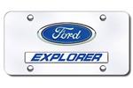 Ford Explorer Hood Scoops